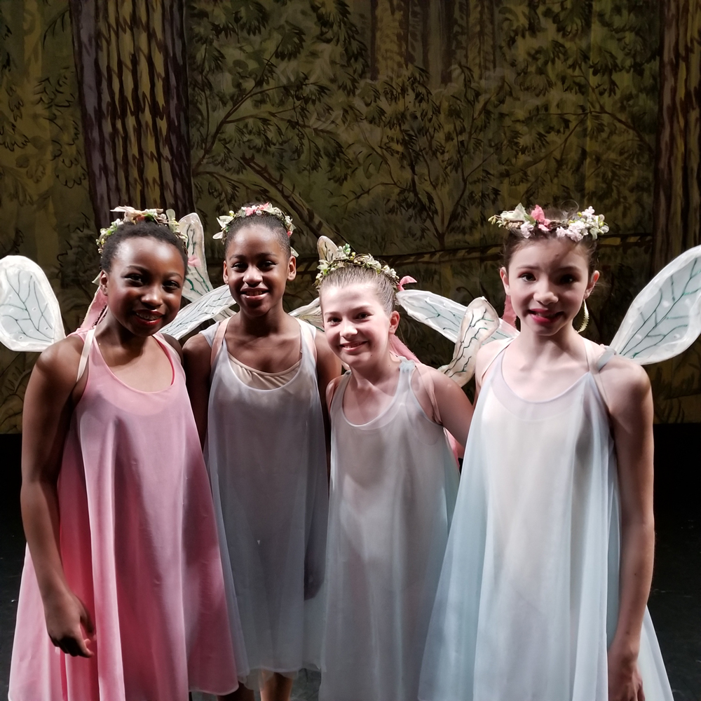Ballet Fairies in A Midsummer Night's Dream