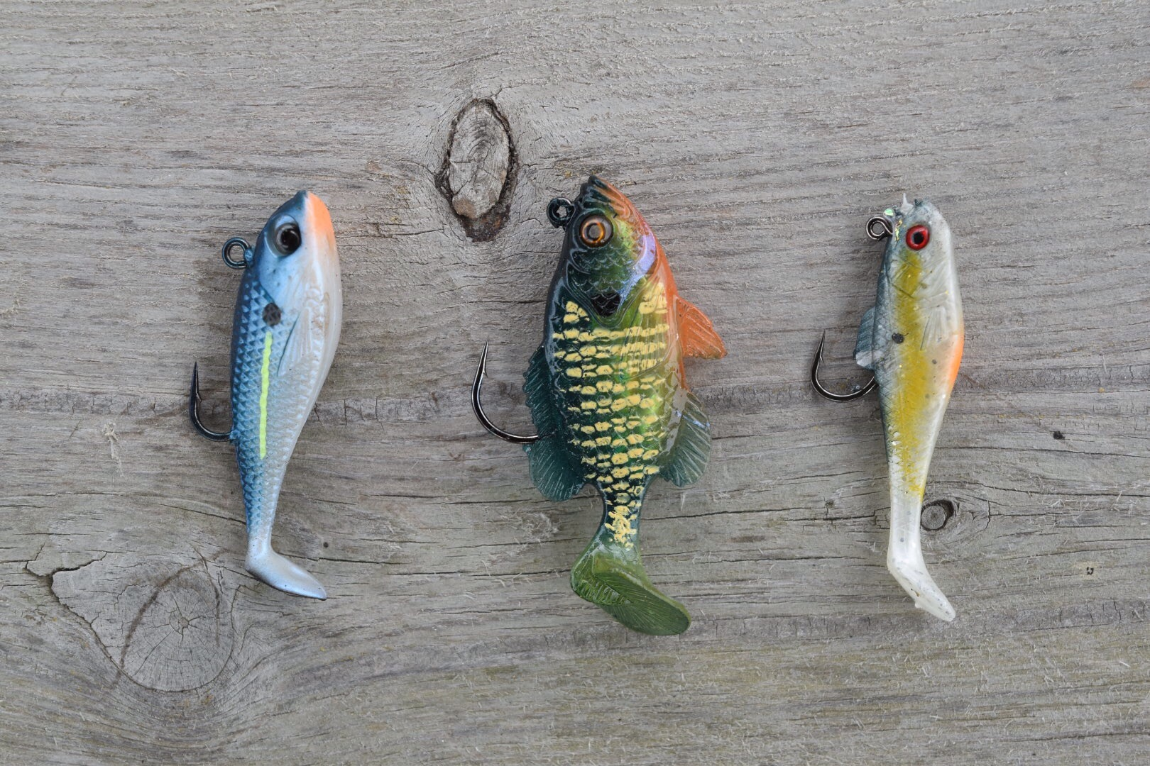 Lined Up Lures