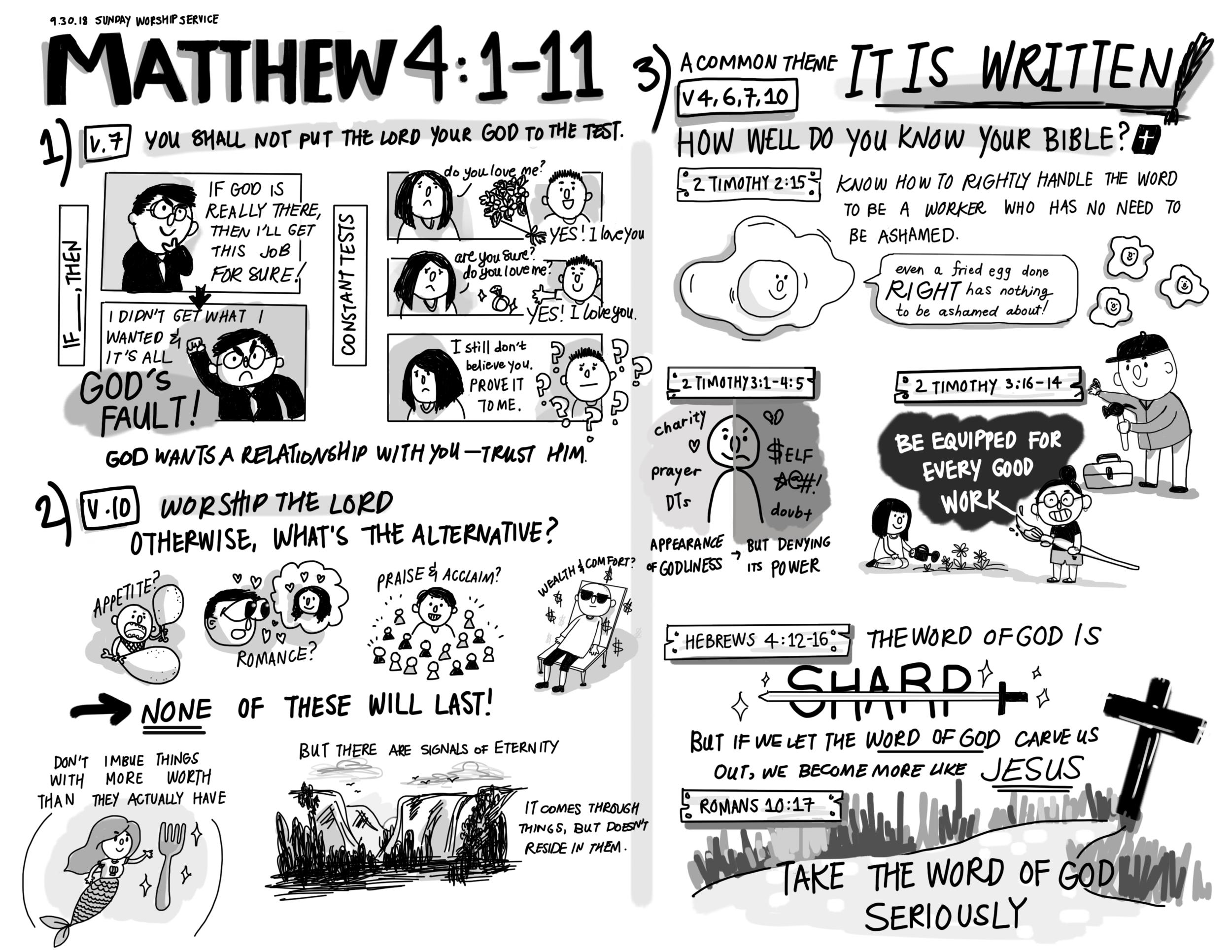 Sept 30 - Temptation of Jesus Pt. 2