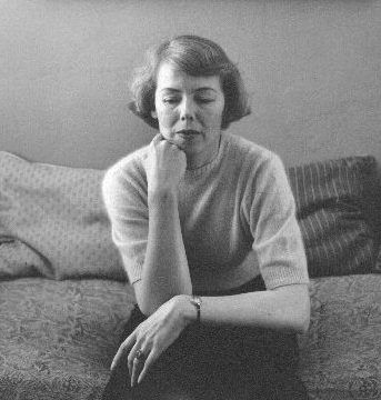 Helen Lundeberg  circa 1982  photo by Lou Jacobs Jr.
