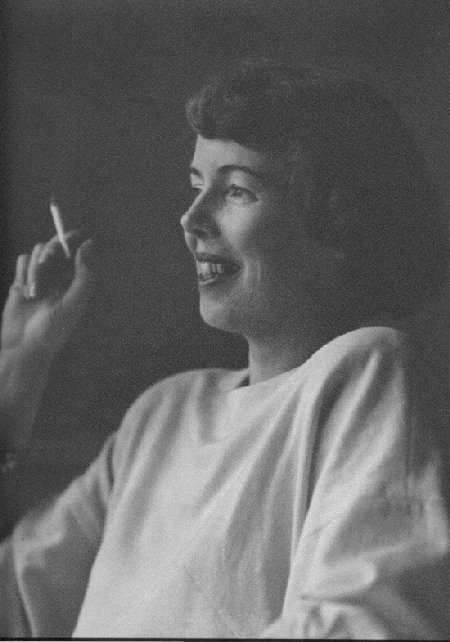 Helen Lundeberg  April 1949  photo Bruce University
