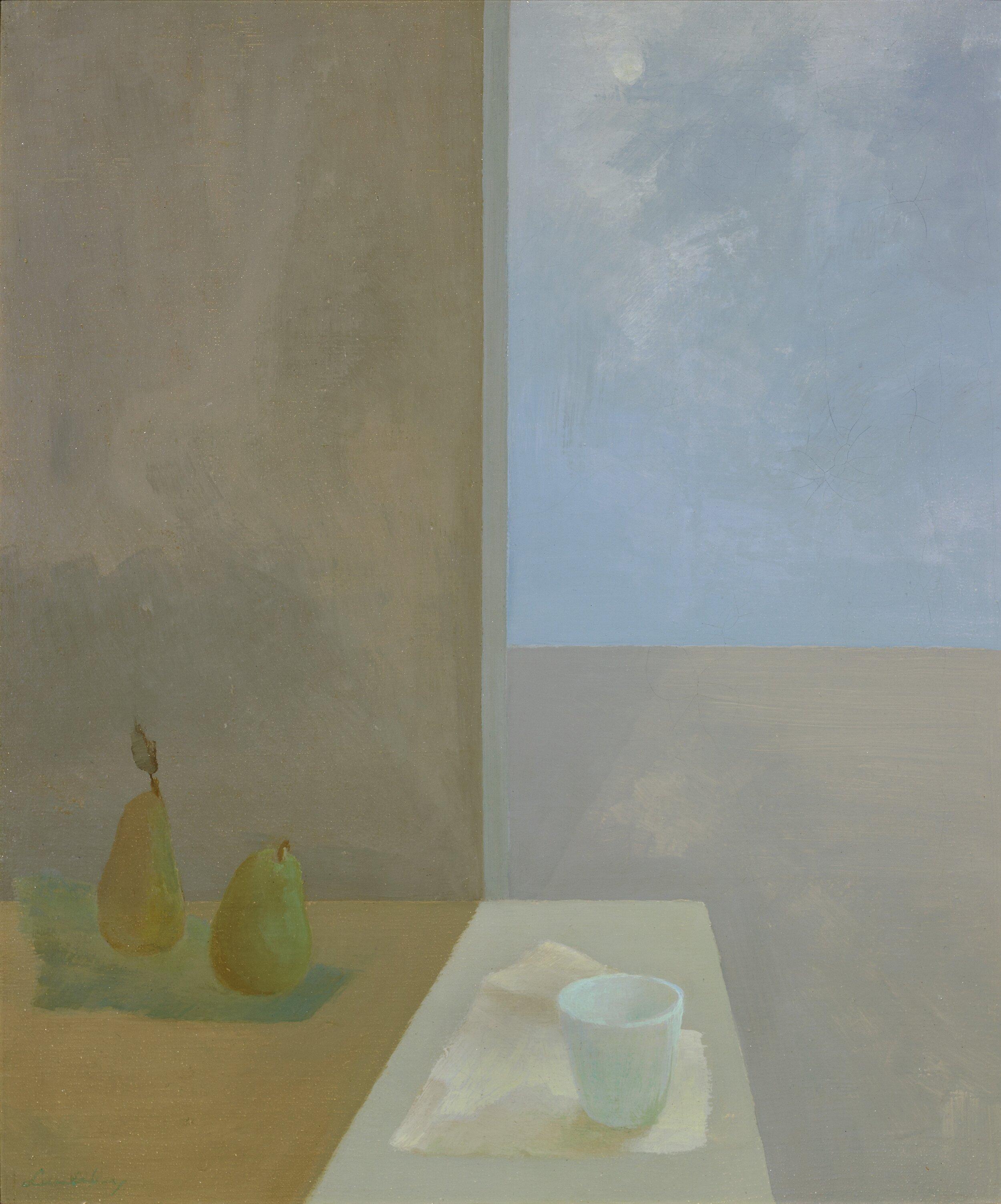 Winter Sun , 1949  oil on canvas 24 x 20 inches; 61 x 50.8 centimeters