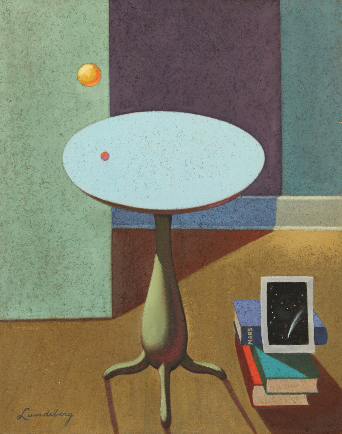 The Red Planet , 1934 oil on Celotex 30 x 24 inches; 76.2 x 61 centimeters  Private Collection