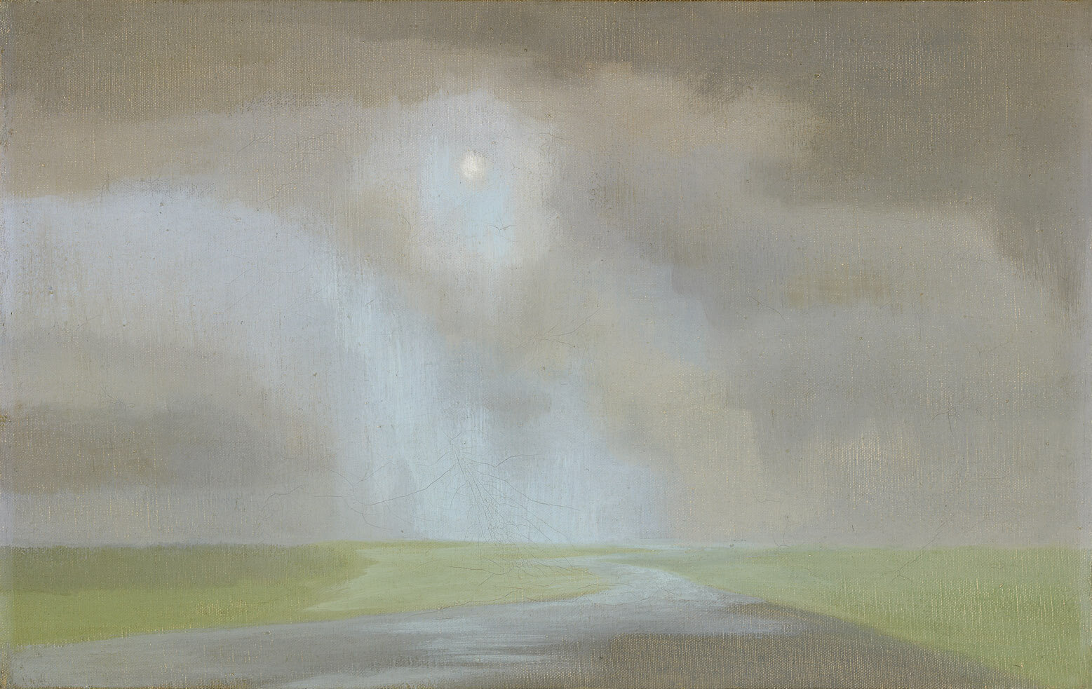 The Elements , 1952  oil on canvas 14 x 22 inches; 35.6 x 55.9 centimeters