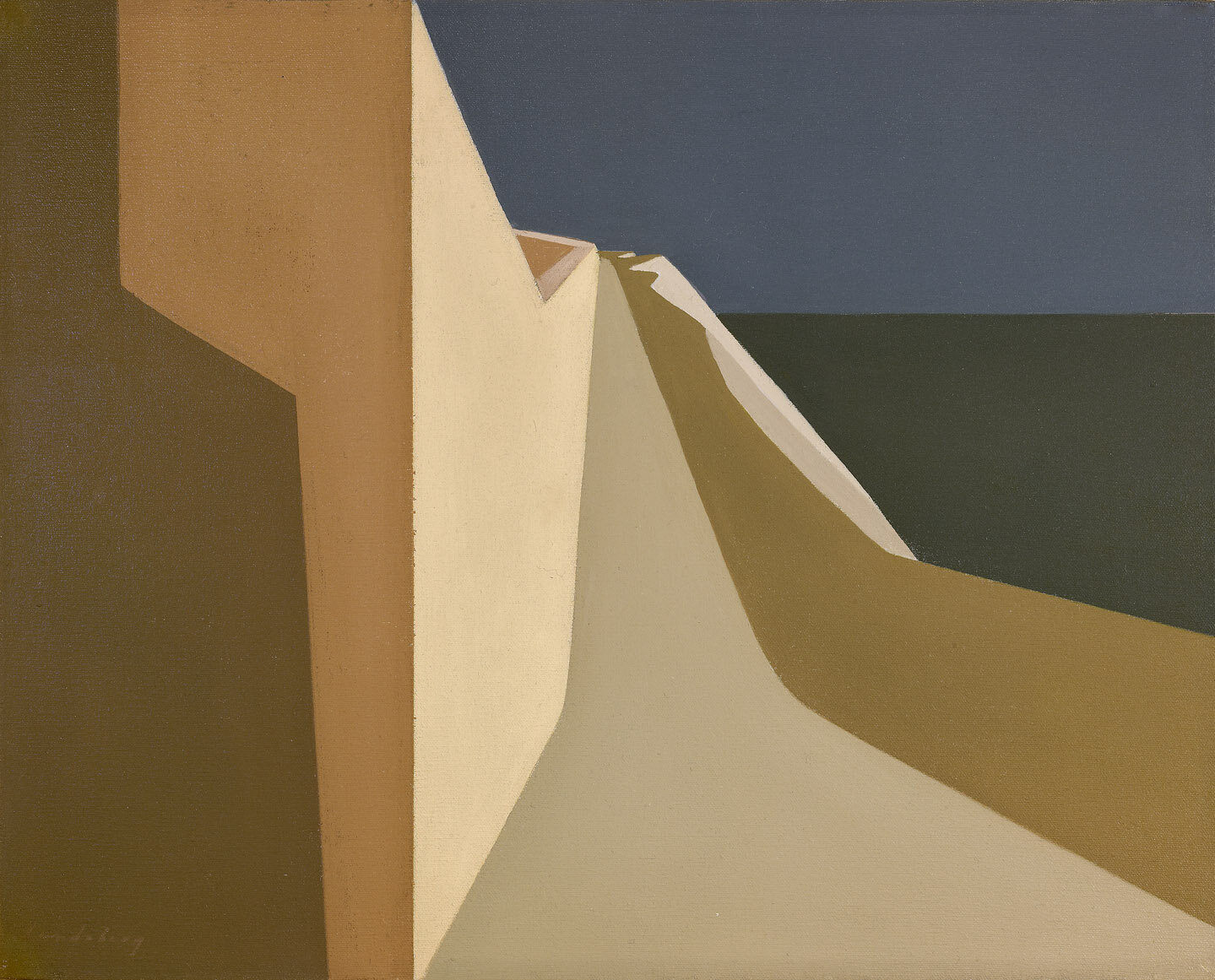 Light Path to the Sea , 1959  oil on canvas 16 x 20 inches; 40.6 x 50.8 centimeters
