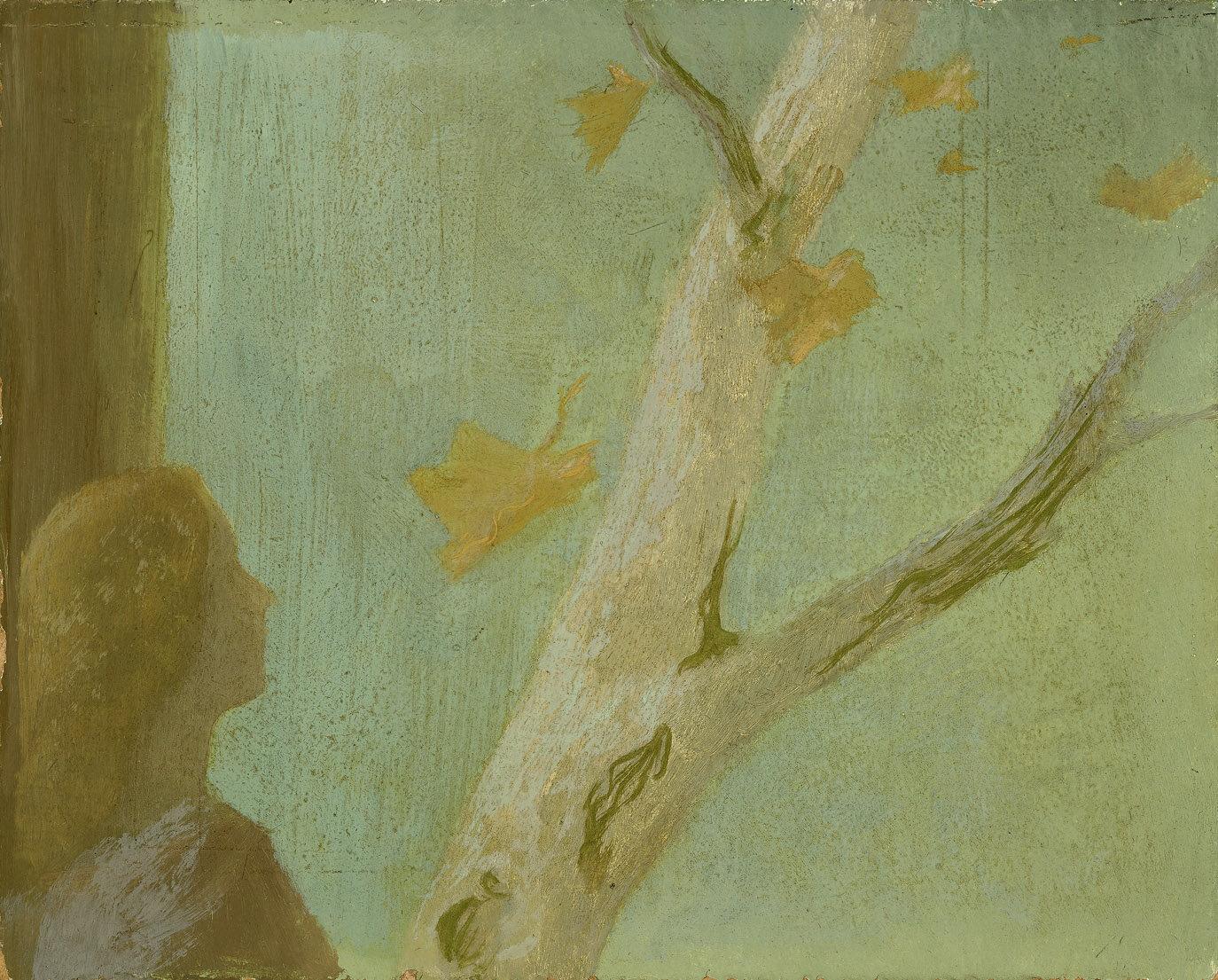 Falling Leaves , 1950