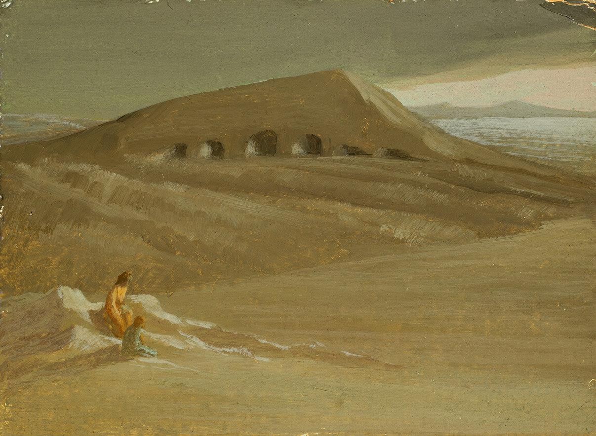 Hagar in the Desert , 1950
