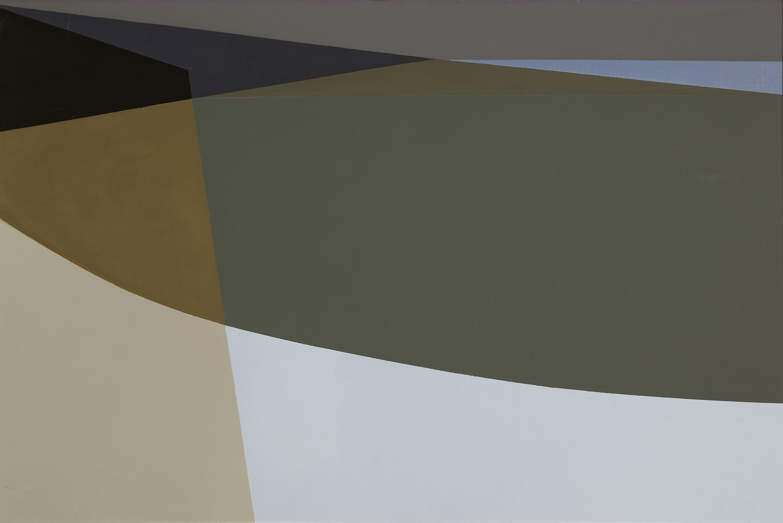 Untitled , 1960  oil on canvas 24 x 36 inches; 61 x 91.4 centimeters