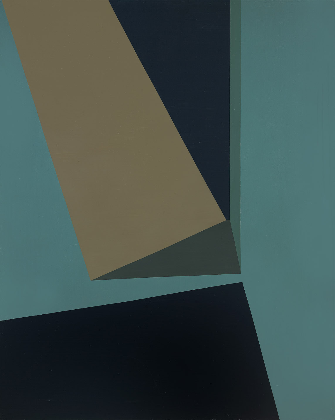 Discovery II , 1961  oil on canvas 50 x 40 inches; 127 x 101.6 centimeters
