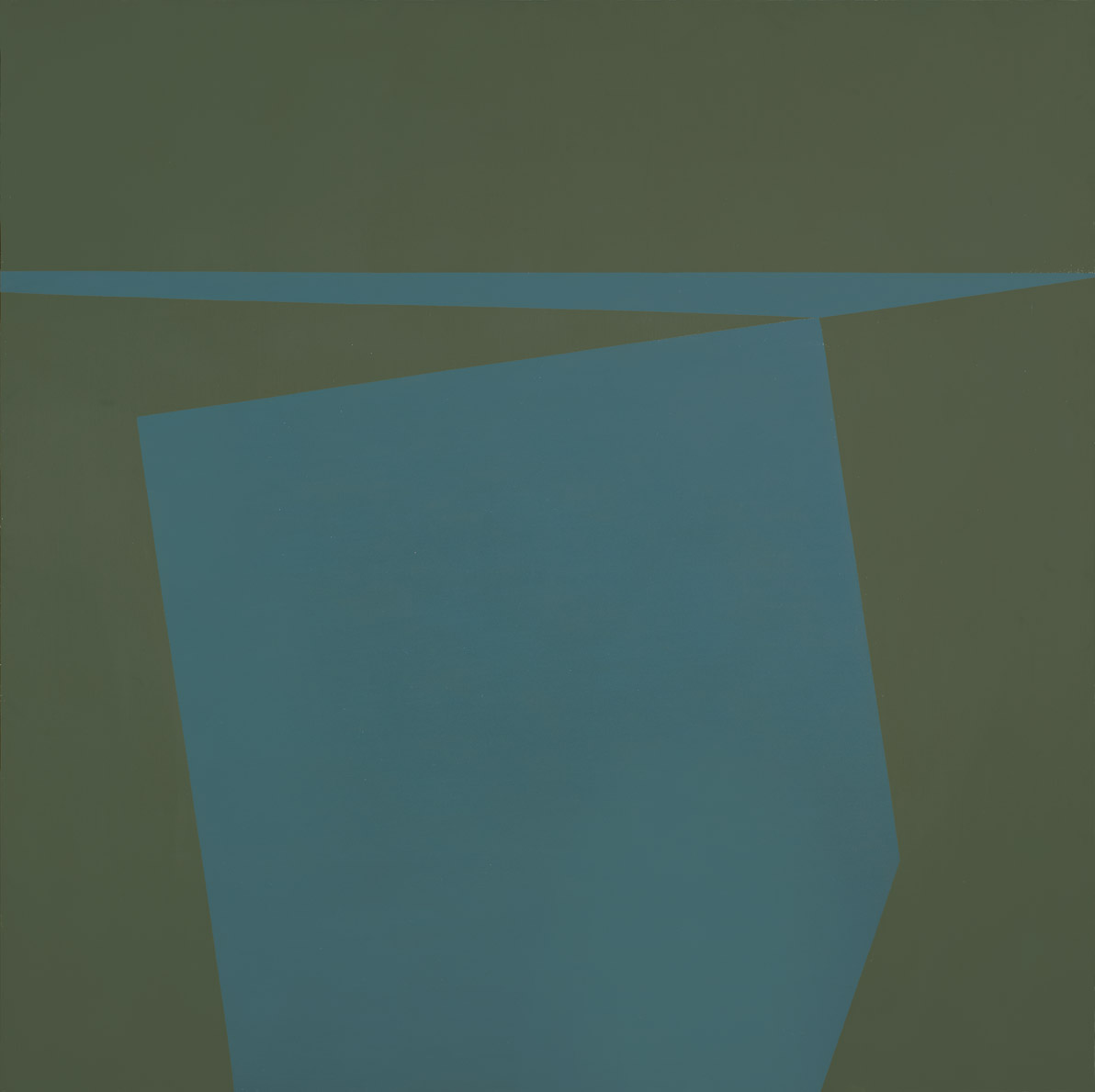 Marina , 1961  oil on canvas 50 x 50 inches; 127 x 127 centimeters