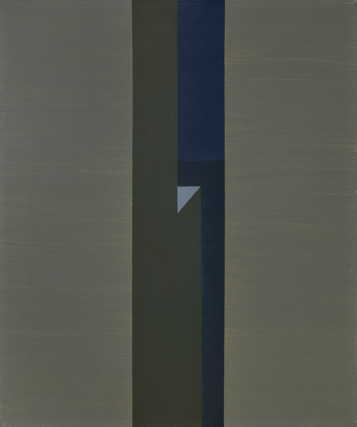 Untitled (Moonlight) , 1961  oil on canvas 24 x 20 inches; 61 x 50.8 centimeters