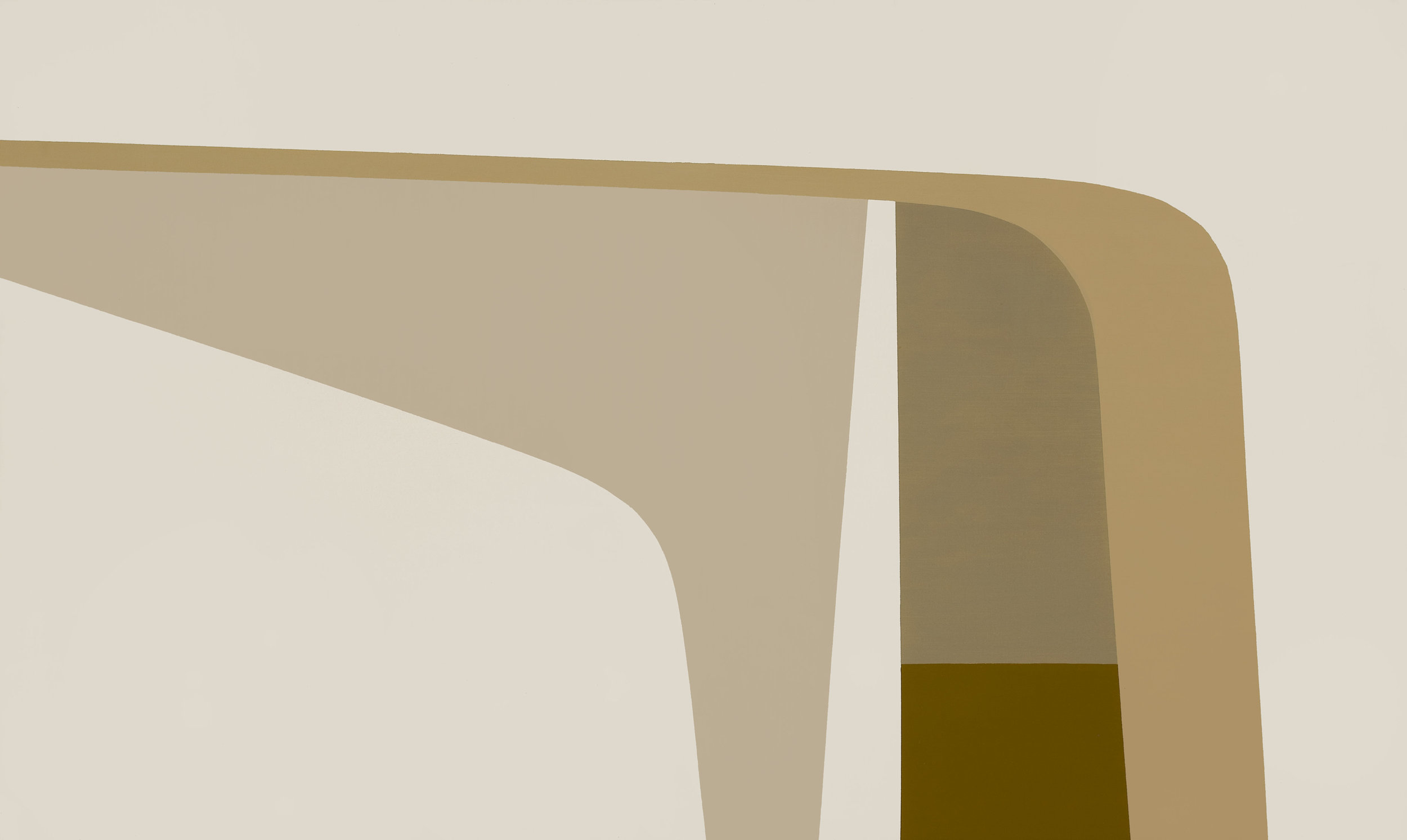 Untitled (Arches II) , 1962  oil on canvas 30 x 50 inches; 76.2 x 127 centimeters