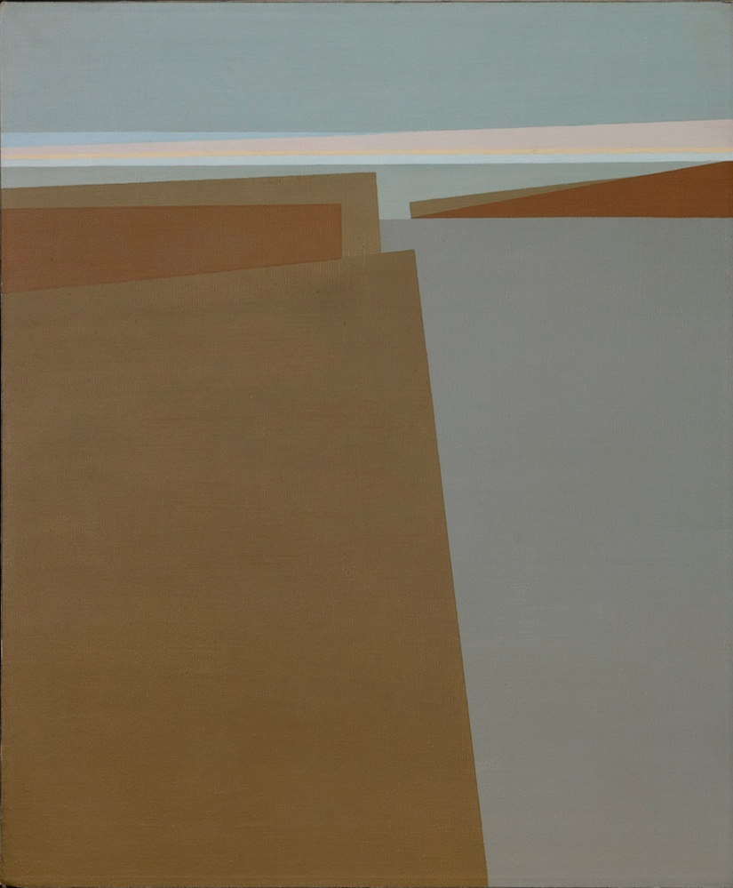 Untitled (Landscape or Daybreak) , 1962  oil on canvas 30 x 24 inches; 76.2 x 61 centimeters
