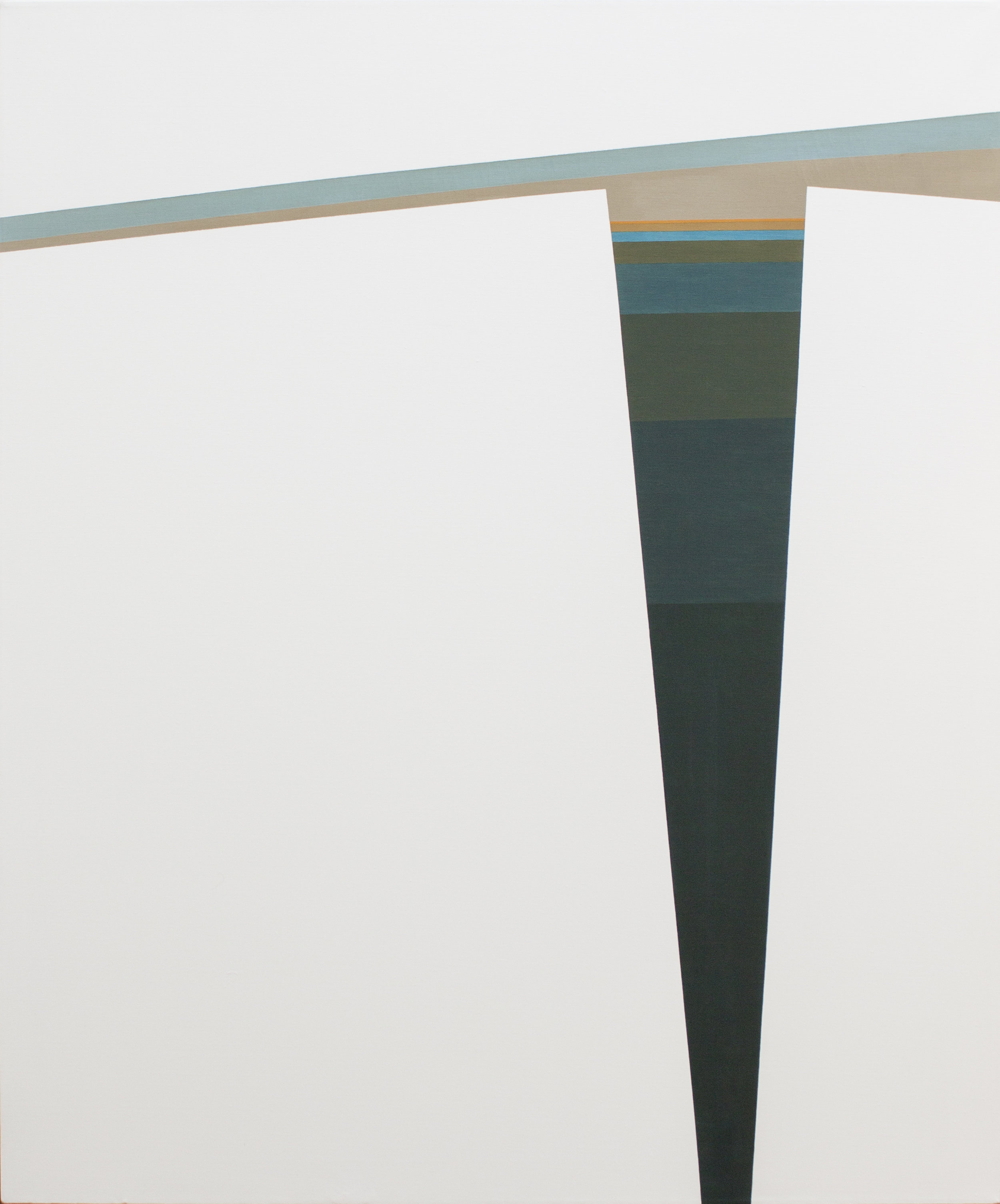 Untitled (March) , 1962  oil on canvas 60 x 50 inches; 152.4 x 127 centimeters