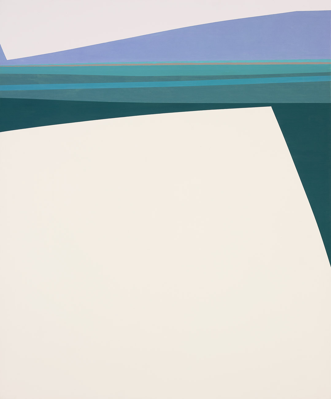 Seascape , 1962  oil on canvas 60 x 50 inches; 152.4 x 127 centimeters