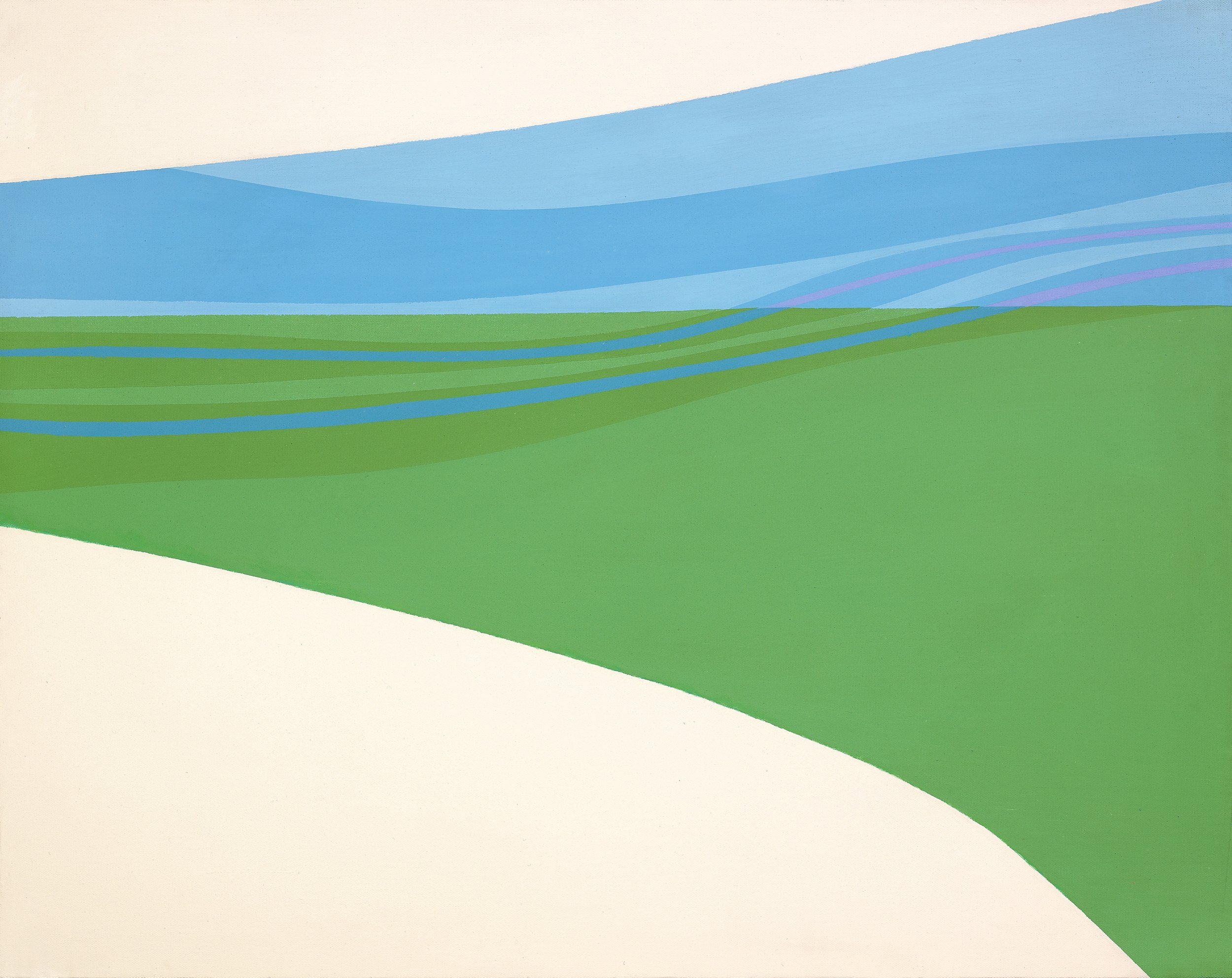 Untitled , 1964  acrylic on canvas 24 x 30 inches; 61 x 76.2 centimeters