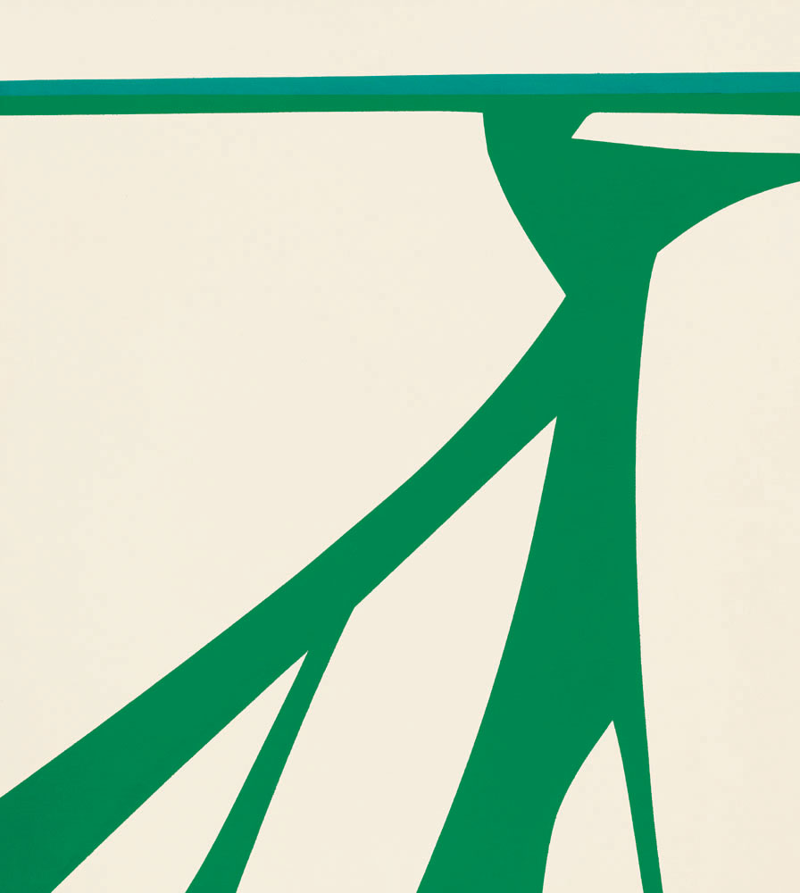 Green River , 1963  oil on canvas 54 x 48 inches; 137.2 x 121.9 centimeters