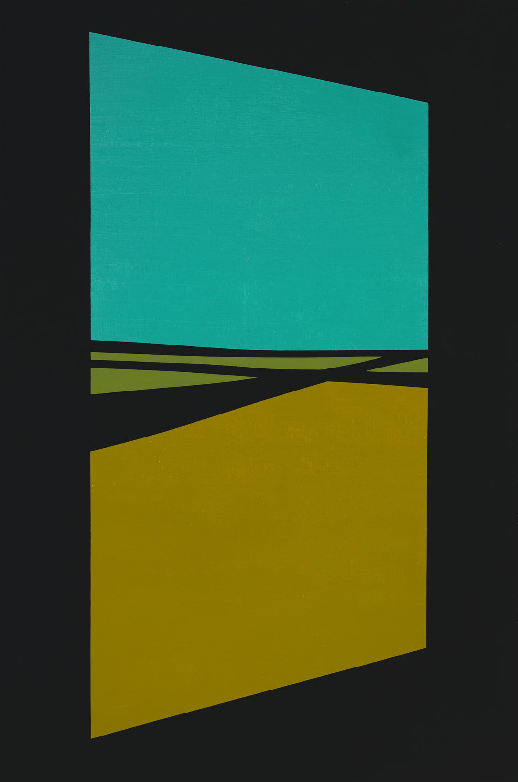 Open Door , 1964  oil on canvas 60 x 40 inches; 152.4 x 101.6 centimeters