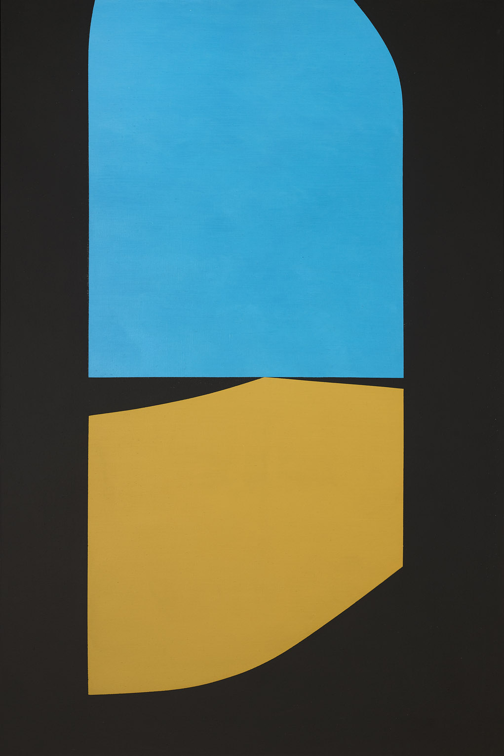 View From An Arcade , 1964  acrylic on canvas 60 x 40 inches; 152.4 x 101.6 centimeters