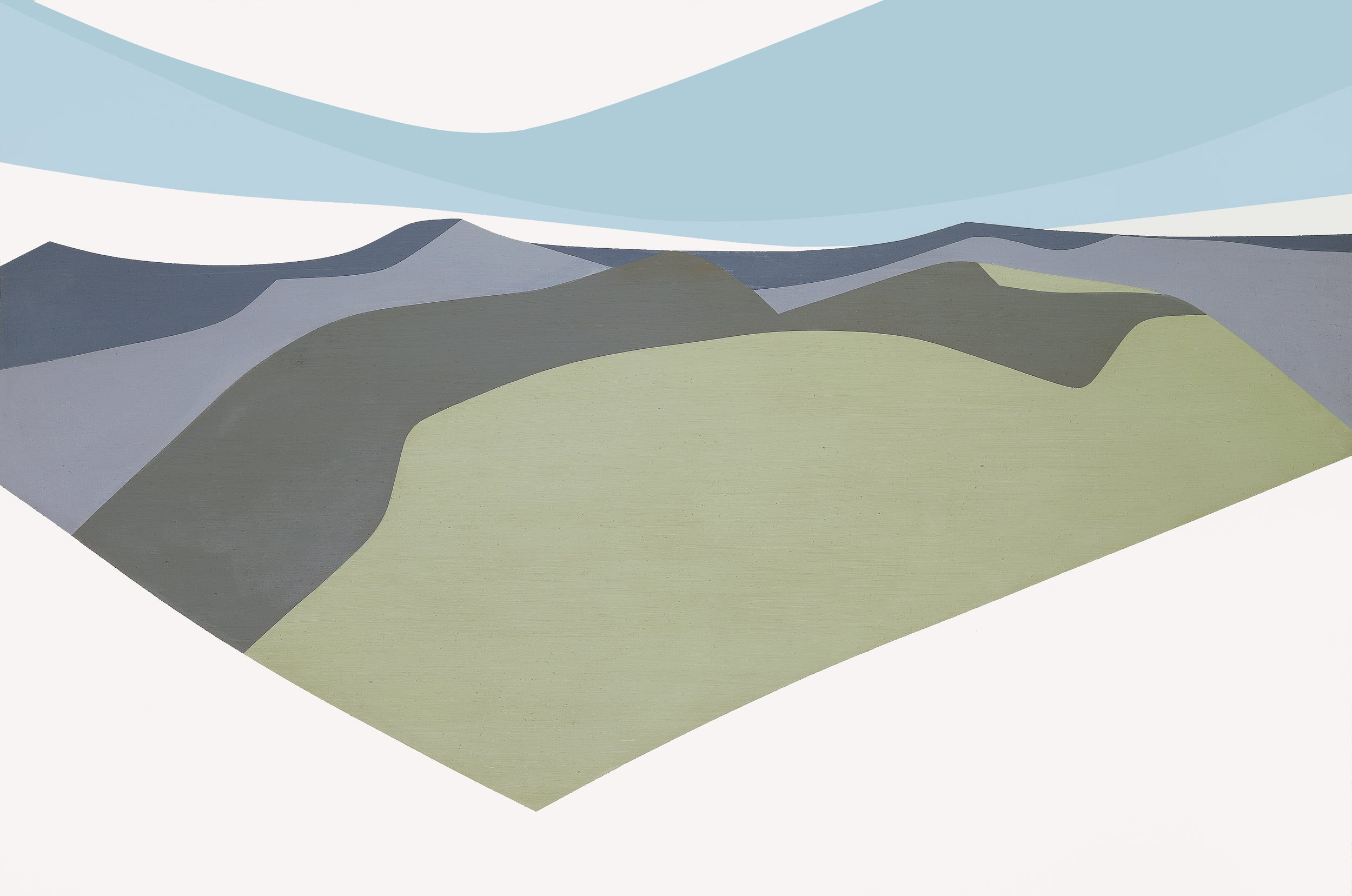 Untitled , 1965  oil on canvas 40 x 60 inches; 101.6 x 152.4 centimeters