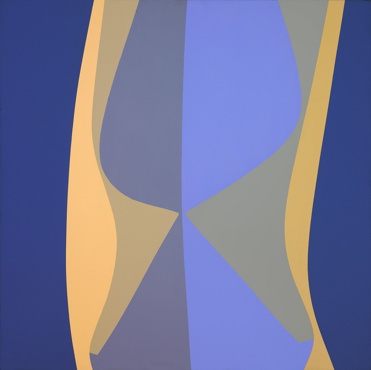 Untitled (March) , 1969  acrylic on canvas 30 x 30 inches; 76.2 x 76.2 centimeters