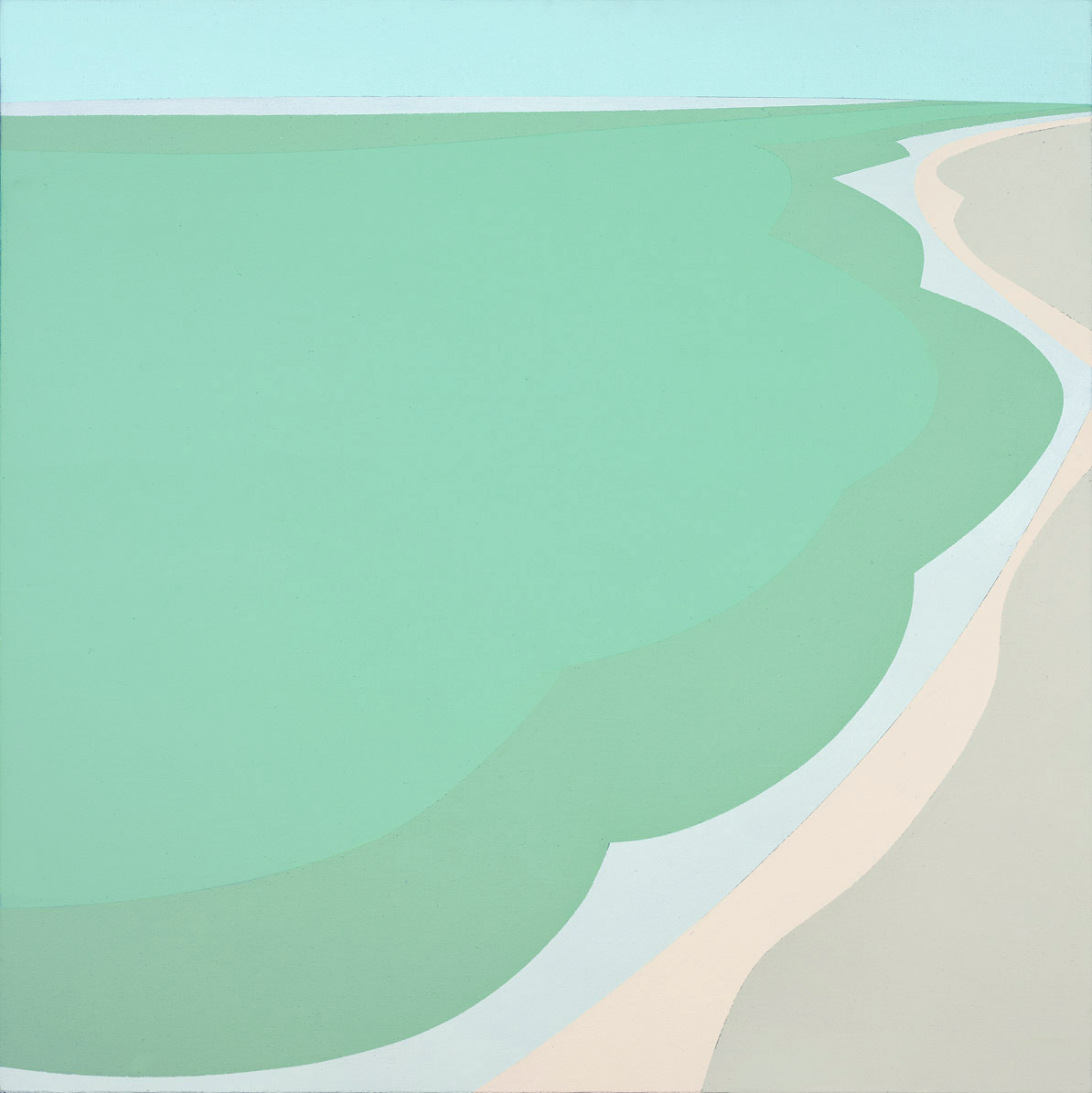 Untitled , 1970  acrylic on canvas 30 x 30 inches; 76.2 x 76.2 centimeters