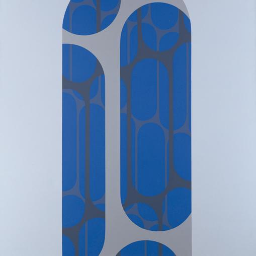 Arcanum #6 , 1970  acrylic on canvas 60 x 60 inches; 152.4 x 152.4 centimeters