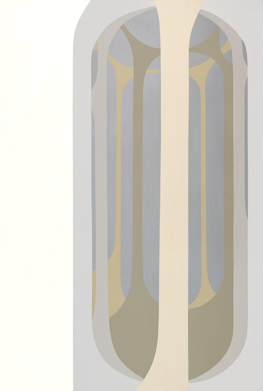 Arcanum I , 1967  acrylic on canvas 60 x 40 inches; 152.4 x 101.6 centimeters