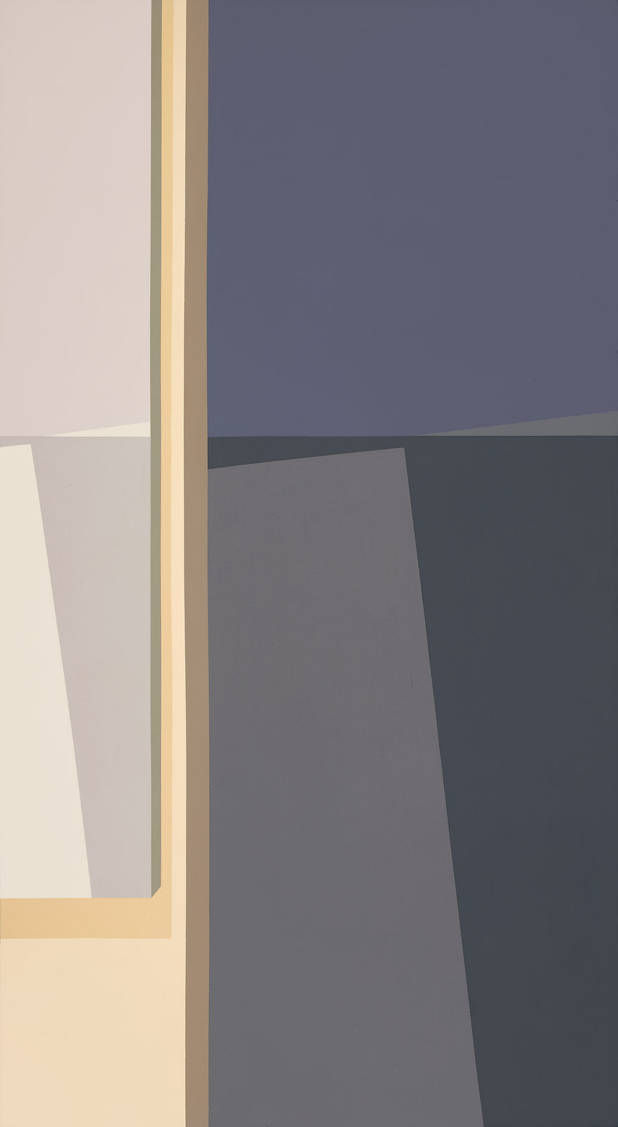Untitled , 1970  acrylic on canvas 54 x 30 inches; 137.2 x 76.2 centimeters