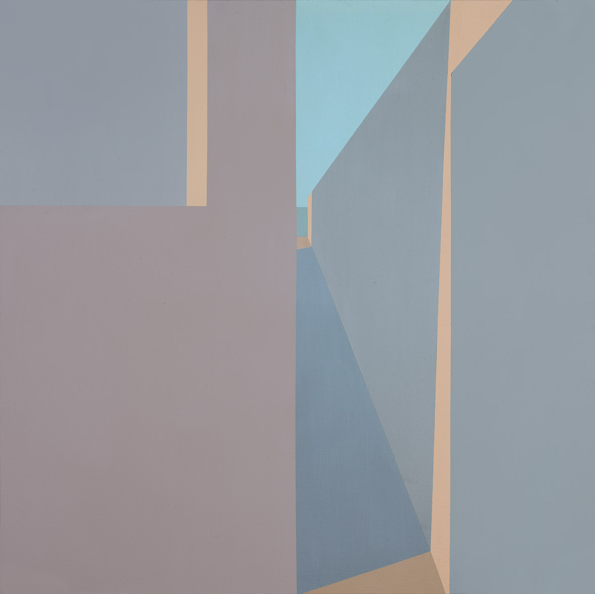 Untitled , 1974  acrylic on canvas 36 x 36 inches; 91.4 x 91.4 centimeters