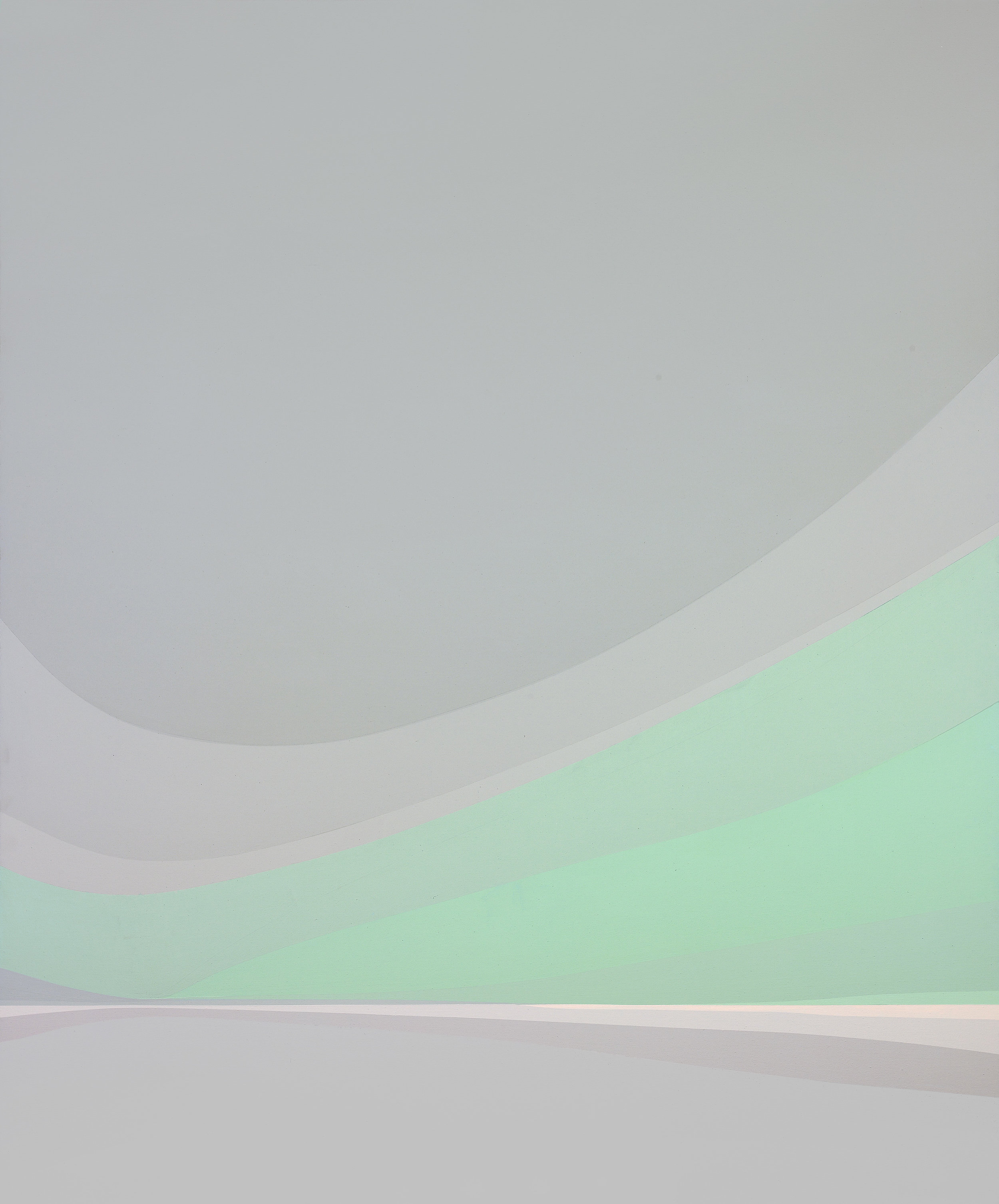 Great Cloud , 1982  acrylic on canvas 60 x 50 inches; 152.4 x 127 centimeters