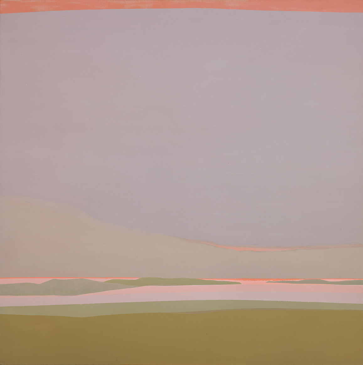 Islands , 1986  acrylic on canvas 50 x 50 inches; 127 x 127 centimeters