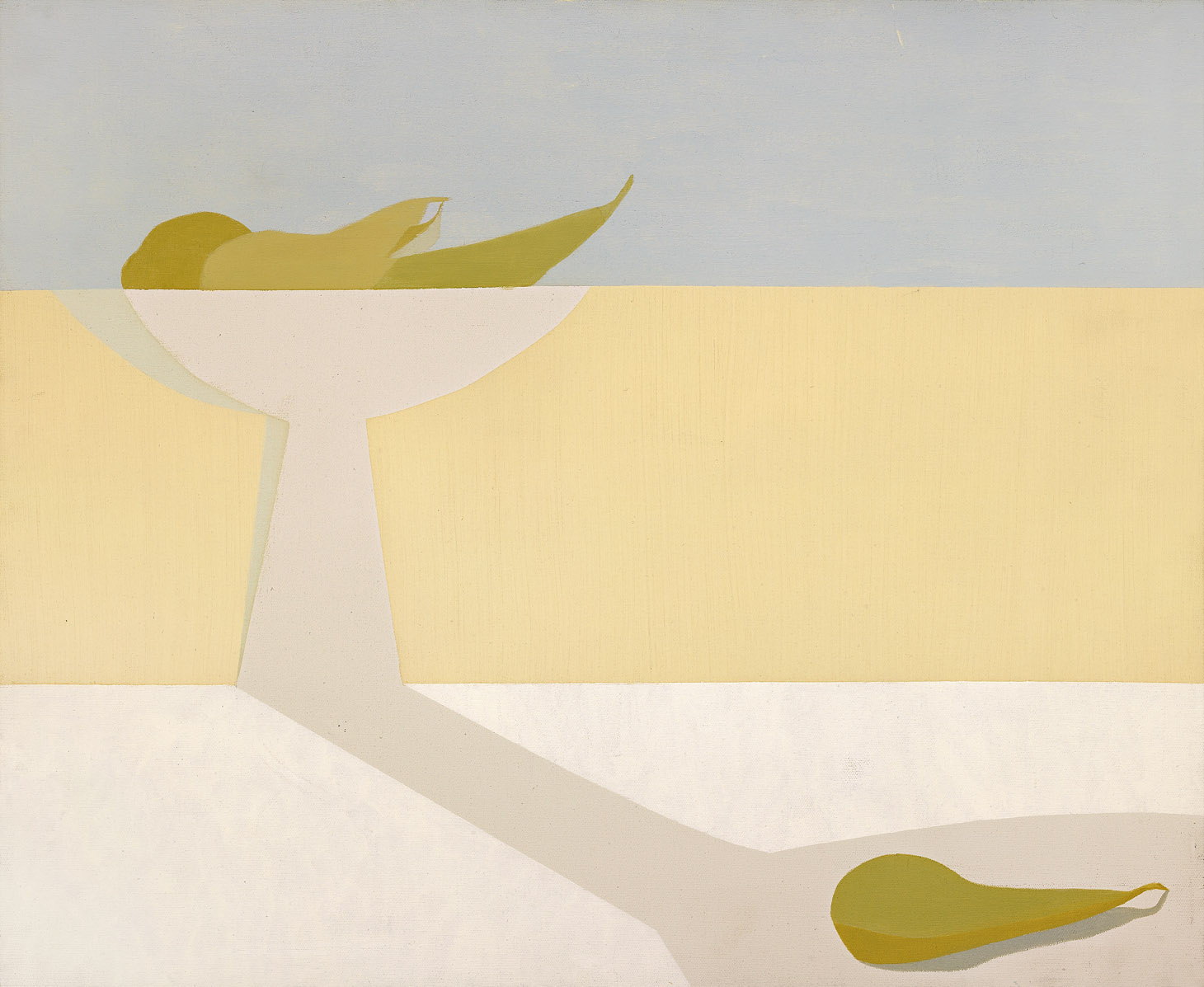 Still Life , 1963 oil on canvas 20 x 24 inches; 61 x 91.4 centimeters