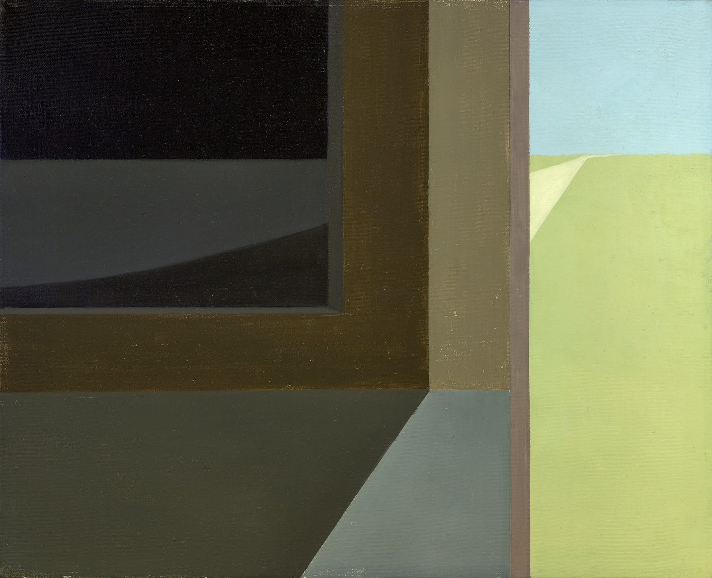 Untitled , 1960  acrylic on canvas 16 x 20 inches; 40.6 x 50.8 centimeters