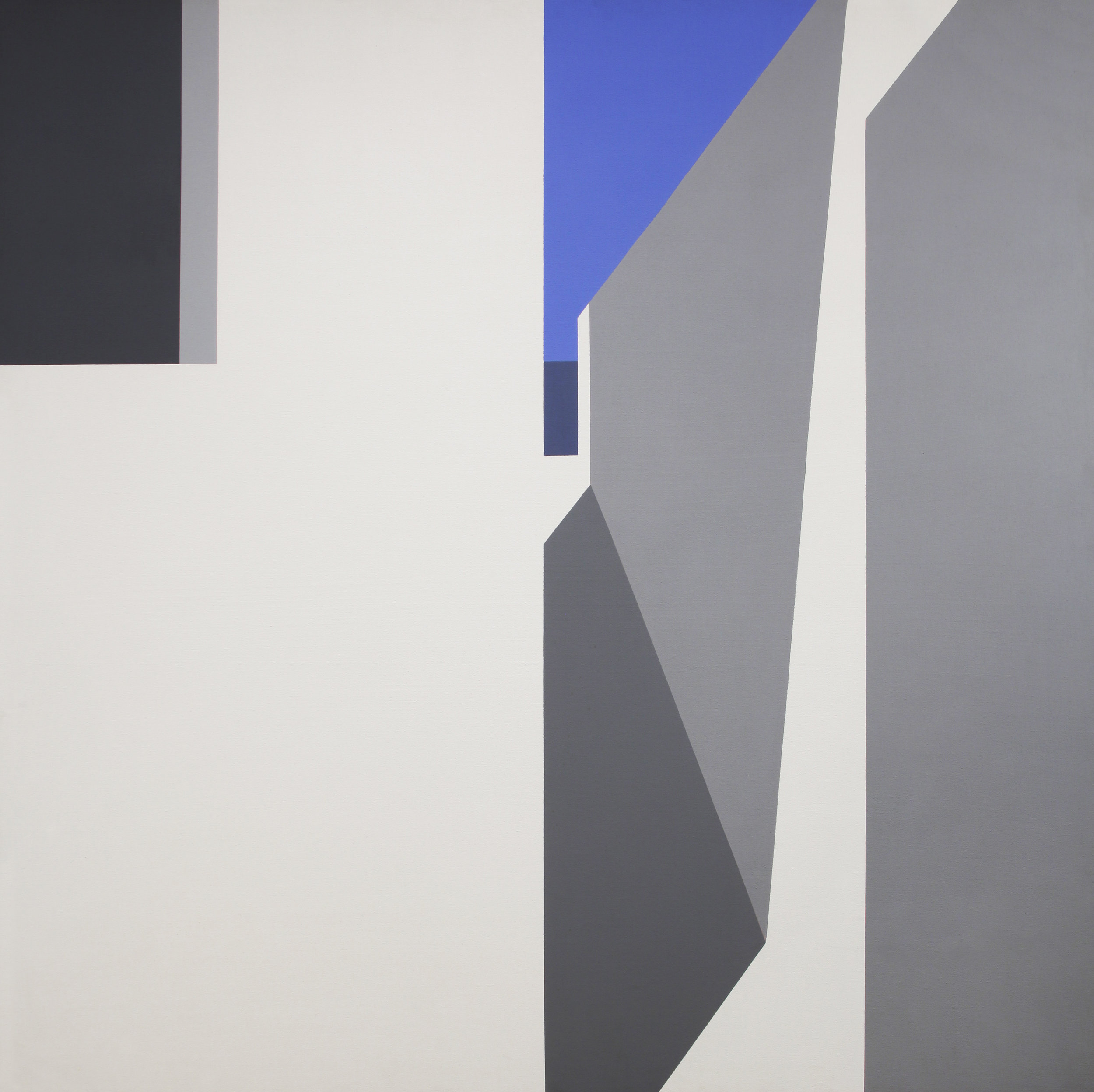 Aegean Light , 1973 acrylic on canvas 60 x 60 inches; 152.4 x 152.4 centimeters  Private Collection