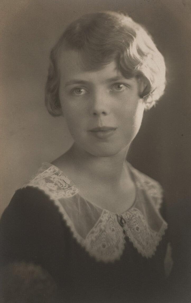 Portrait of Helen Lundeberg, spring 1925