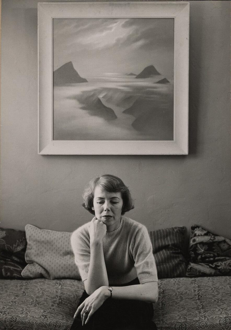 Helen Lundeberg, circa 1948-49.