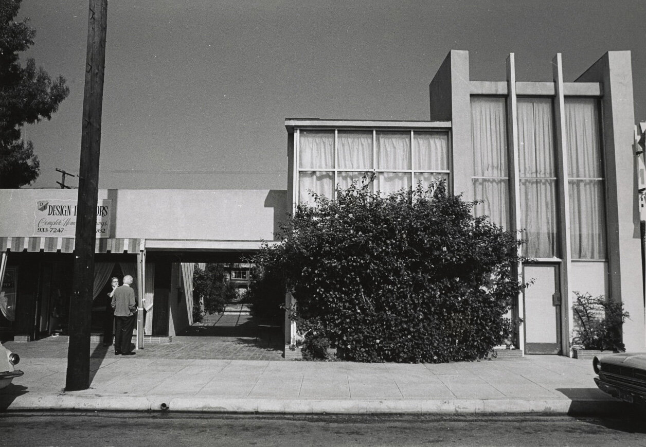 Lundeberg and Feitelson's studio on 3rd Street, 1970.