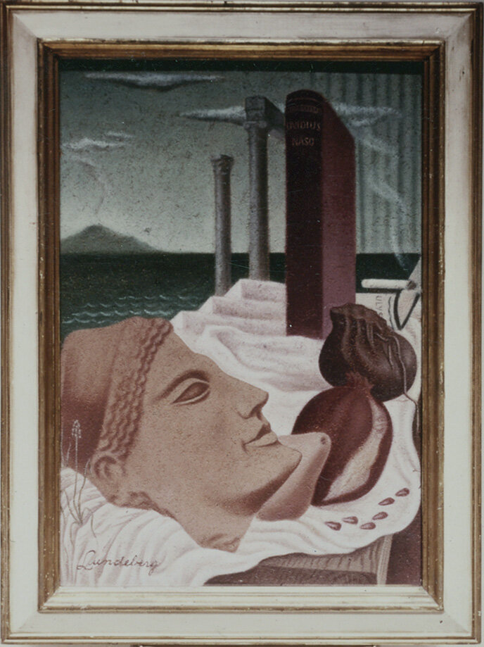 Persephone , 1933 oil on celotex 25 1/8 x 17 1/4 inches; 63.8 x 43.8 centimeters  Orange County Museum of Art