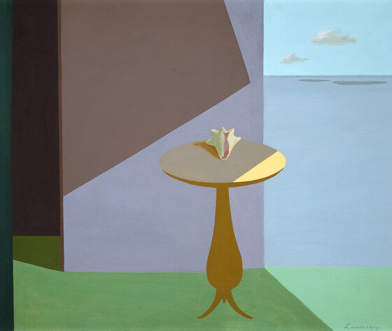 The Shell , 1951 oil on canvas 30 × 36 inches; 76.2 × 91.44 centimeters  Los Angeles County Museum of Art