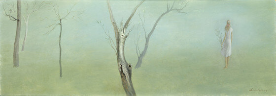 Spring , 1951 oil on masonite 12 3/8 x 35 inches; 31.43 x 88.9 centimeters  Los Angeles County Museum of Art