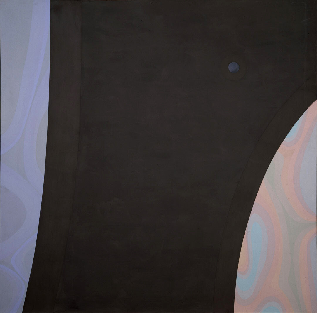 Among the Planets , 1965 oil and enamel on canvas 60 × 60 inches; 152.4 × 152.4 centimeters  Hirshhorn Museum and Sculpture Garden