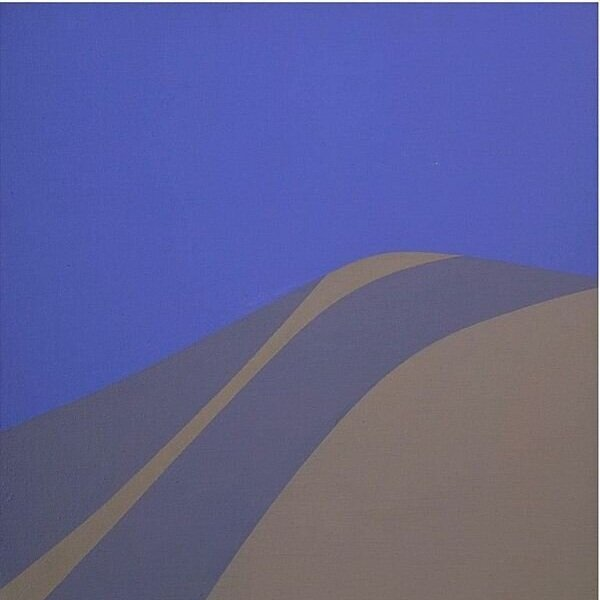 Blue Sky , 1966 acrylic on canvas 12 1/8 × 12 1/8 inches; 30.8 × 30.7 centimeters  Hirshhorn Museum and Sculpture Garden