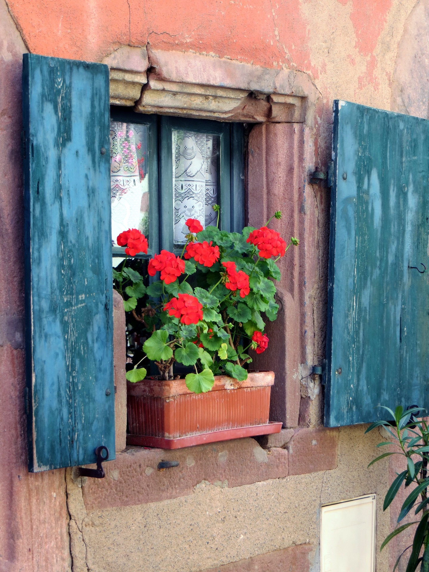 Let's Speak French private lessons for individuals. Tutor can visit your home. Image of cute french cottage.