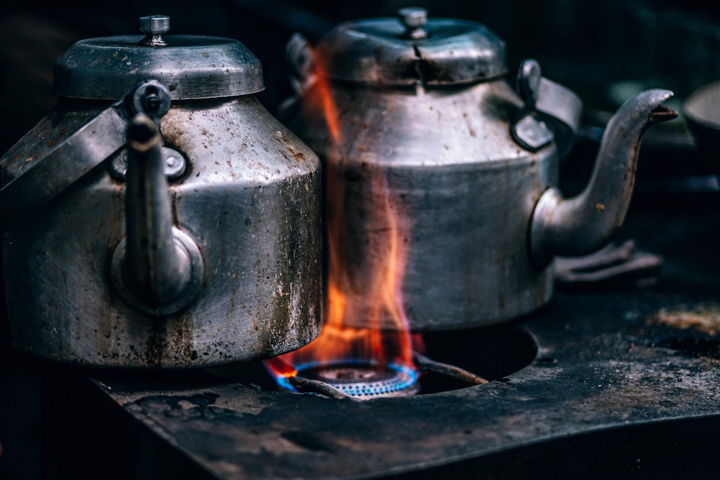 10.Bouillir - To boil -