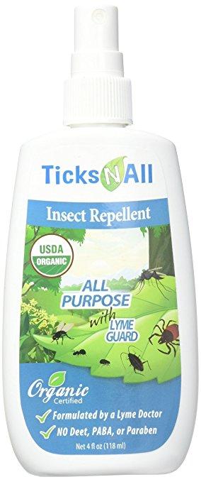 Ticks-N-All Organic Insect Spray