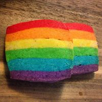 Rainbow Pride Shortbread - Selling the whole month of June
