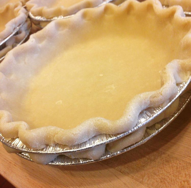 Take and Bake Pie Shells