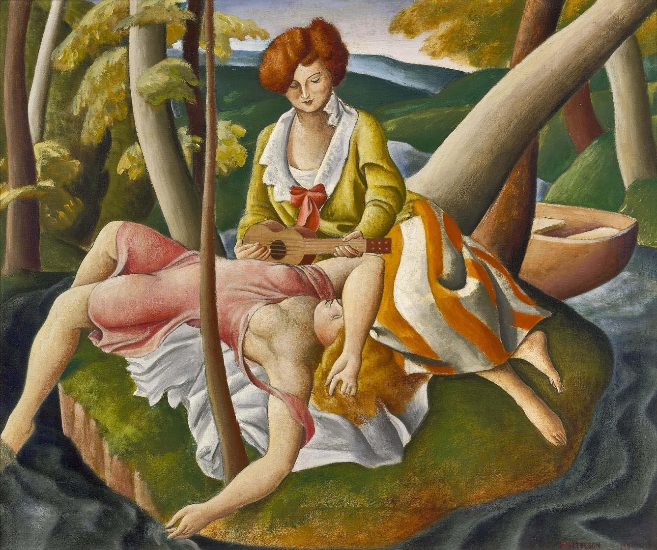 The Island , 1921  oil on canvas 20 x 24 inches; 50.8 x 61 centimeters