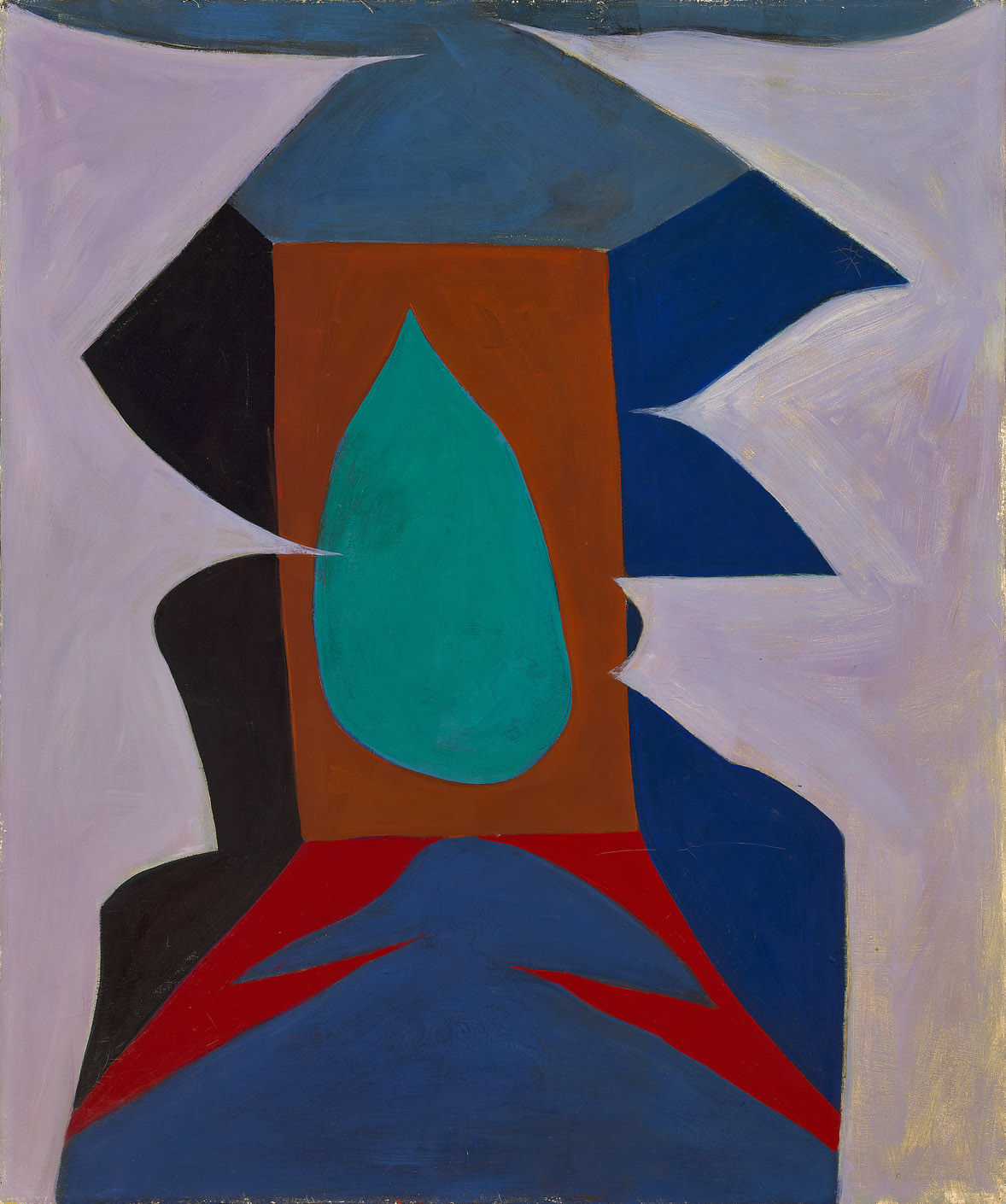 Untitled , 1950  oil on canvas 36 x 30 inches; 91.4 x 76.2 centimeters